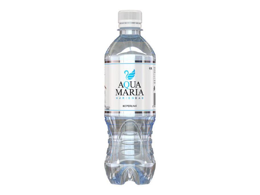 Вода минеральная столовая негазированная Aqua Maria 0.5л - FreshMart
