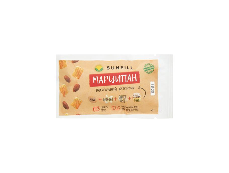 Батончик Марципан Sunfill 40г - FreshMart