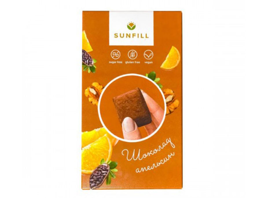 Конфеты шоколад-апельсин Sunfill 150г - FreshMart