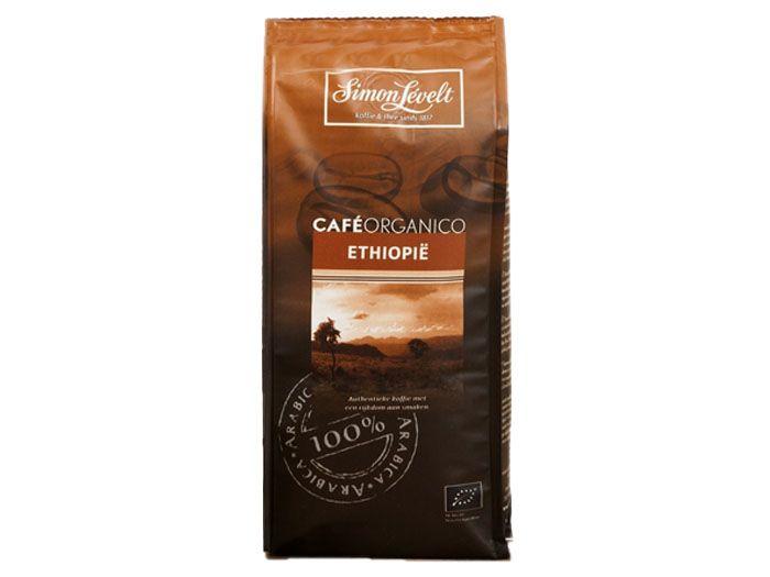 Кофе молотый органический Эфиопия Café Organico Simon Lévelt 250г - FreshMart