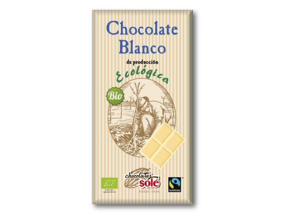 Шоколад белый органический Chocolates Solé 100г - FreshMart
