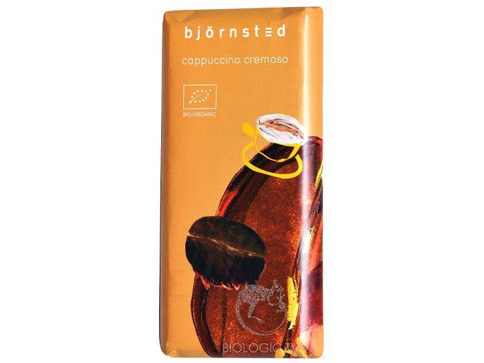 Шоколад кремовый капуччино органический  Björnsted 100г - FreshMart