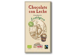 Шоколад молочний органічний Chocolates Solé 100г - FreshMart