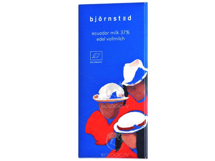 Шоколад молочный органический Björnsted 100г - FreshMart