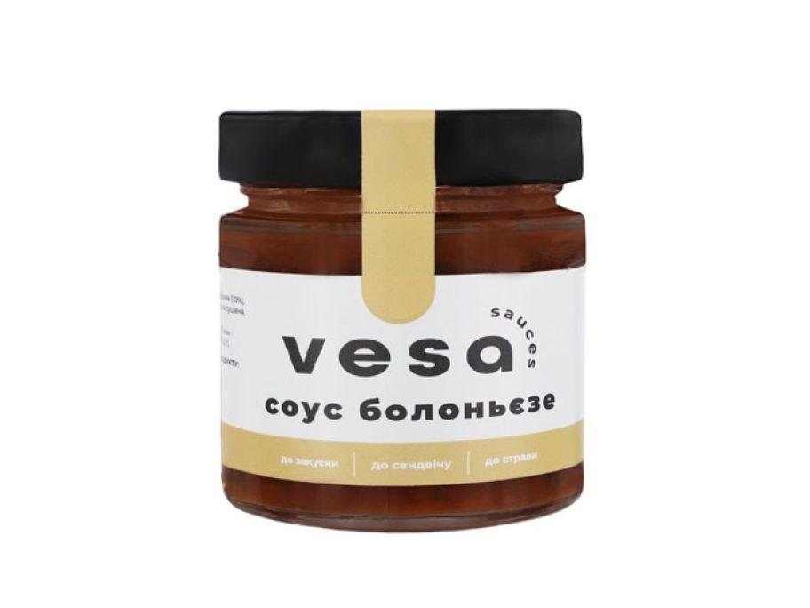 Соус Болоньезе из овощей Vesa 200г - FreshMart