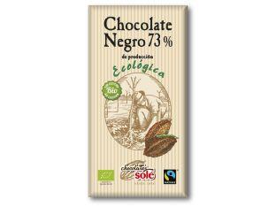 Шоколад чорний 73% какао органічний Chocolates Solé 100г - FreshMart