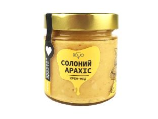 Крем-мед соленый арахис BDJO 300г - FreshMart