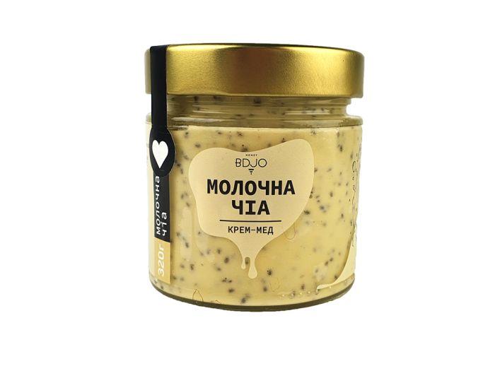 Крем-мед молочна-чіа BDJO 300г - FreshMart