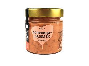 Крем-мед полуниця-базилік BDJO 300г - FreshMart