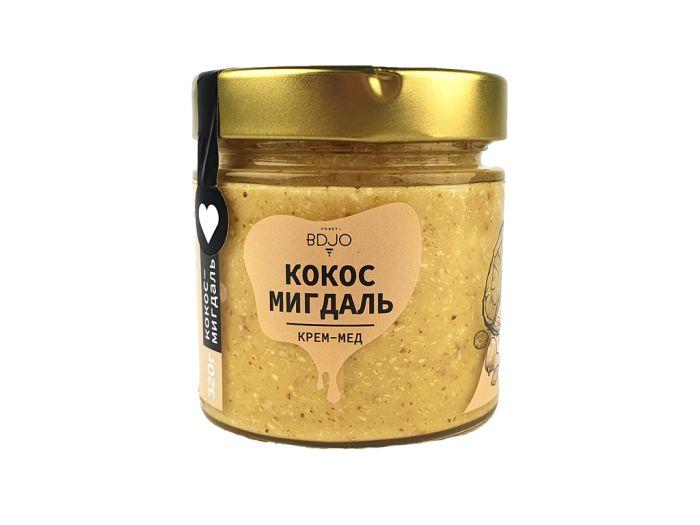 Крем-мед кокос-миндаль BDJO 300г - FreshMart