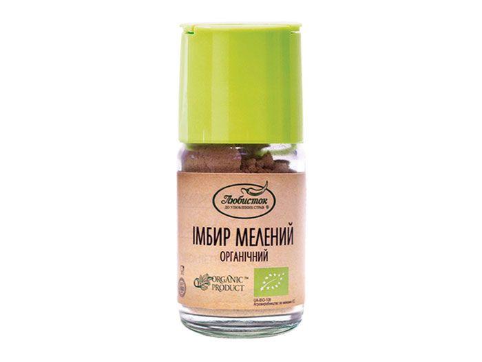 Імбир мелений органічний Любисток 26г - FreshMart