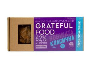 """Продукт соевый """"Классический"""" Grateful Food 400г - FreshMart"""