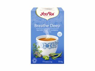 """Чай травяной с пряностями """"Глубина дыхания"""" органический Yogi Tea 30 г - FreshMart"""