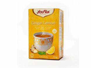 """Чай травяной с пряностями """"Имбирь-лимон"""" органический Yogi Tea 30 г - FreshMart"""