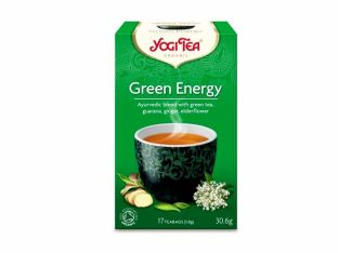 """Смесь травяного и зеленого чая """"Зеленая энергия"""" органический Yogi Tea 30г - FreshMart"""