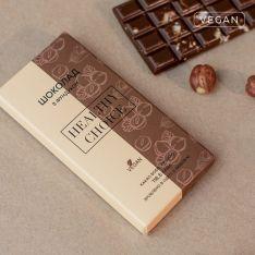 Шоколад молочний з фундуком Healthy Choice 80г - FreshMart