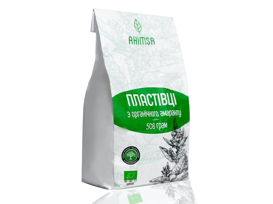 Хлопья амарантовые органические Ахимса 500г  - FreshMart