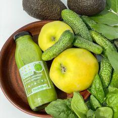Смузі яблуко-авокадо-огірок-шпинат 300 мл - FreshMart