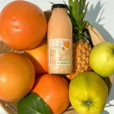 Смузі ананас-яблуко-грейпфрут 300 мл - FreshMart