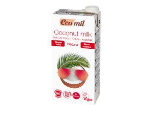Молоко растительное кокосовое органическое без сахара Ecomil 1 л - FreshMart