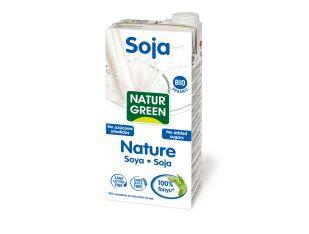Молоко растительное соевое органическое без сахара Natur Green 1 л - FreshMart