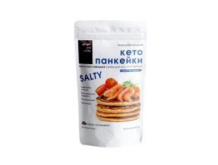Суміш для випічки солона низьковуглеводна, Кето панкейки Salty Edition Ginger and White 257 г - FreshMart