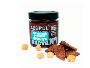 Паста №1 фундук та молочний шоколад Leopol' 200 г - FreshMart