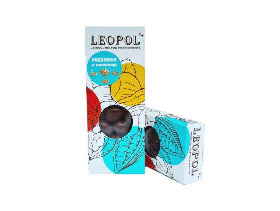 Изюм в молочном шоколаде без сахара Leopol' 50 г - FreshMart
