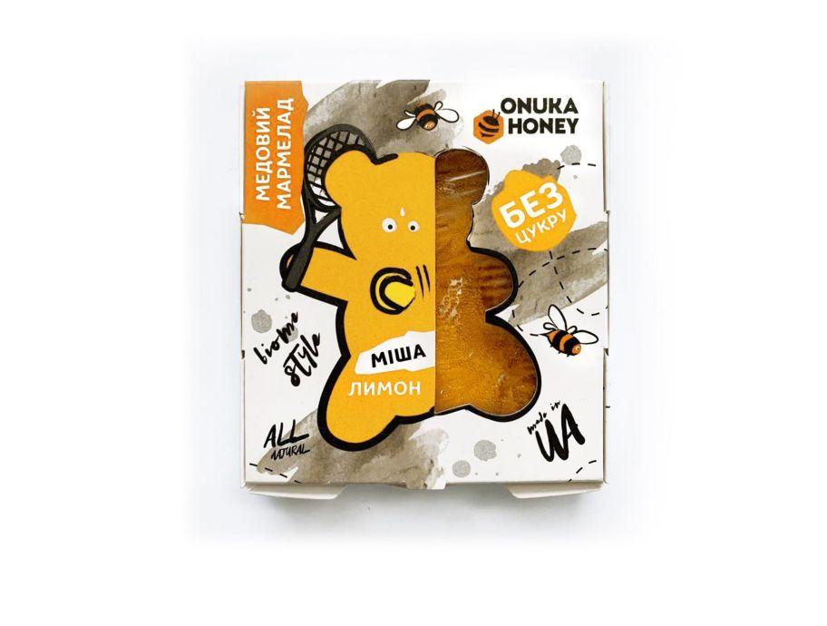 Мармелад медовый «Миша» лимон ONUKA HONEY 100 г - FreshMart