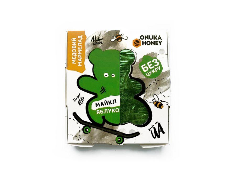 Мармелад медовый «Майкл» яблоко ONUKA HONEY 100 г - FreshMart
