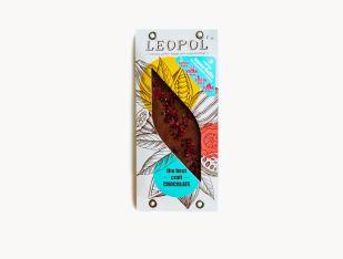 Шоколад молочный без сахара вишня Leopol' 75 г - FreshMart