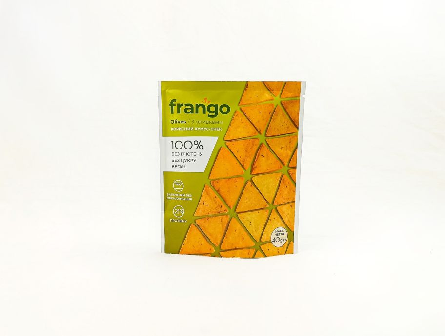 Хумус-снэк с оливками Frango 40 г - FreshMart
