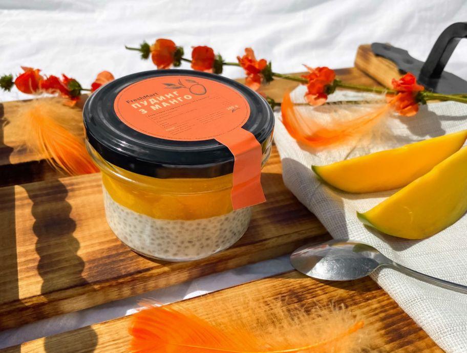 Пудинг с манго без сахара FreshMart 200 г - FreshMart