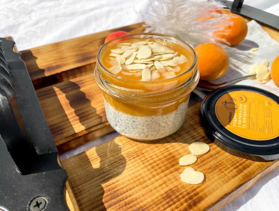Пудинг с абрикосом и миндалем без сахара FreshMart 200 г - FreshMart