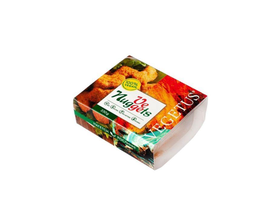 Наггетсы веганские замороженные «Vege Nuggets» Vegetus 230 г - FreshMart