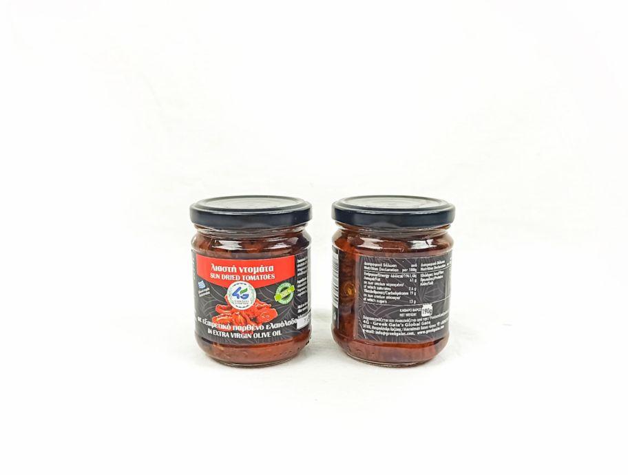 Томаты вяленые в оливковом масле Extra Virgin греческие 190 г - FreshMart