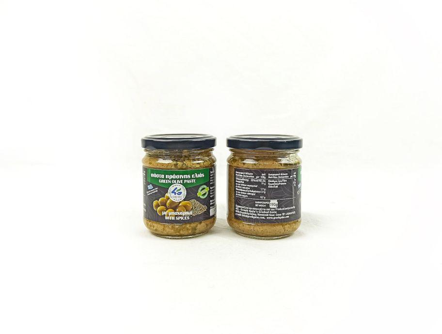 Паста оливковая из зеленых оливок греческая 190 г - FreshMart