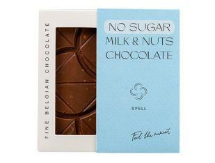 Шоколад молочный без сахара с фундуком Spell 80 г - FreshMart