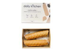 Вафельні трубочки з шоколадною пастою Healthy Nuts Daily Kitchen 2 шт. - FreshMart