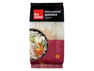 Локшина рисова широка Katana 200 г - FreshMart