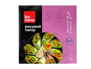 Бумага рисовая 5 листов Katana 45 г - FreshMart