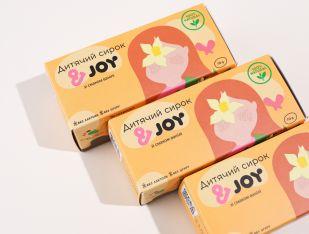 Детский сырок со вкусом ванили &JOY 70 г - FreshMart