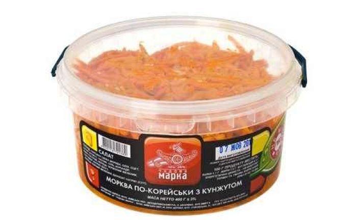 Морковь по-корейски с кунжутом 400г - FreshMart