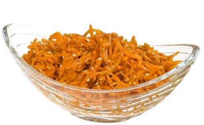 Морковь по-корейски с кунжутом весовая - FreshMart
