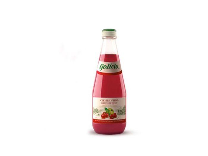 Сік Galicia яблучно-вишневий 330мл - FreshMart