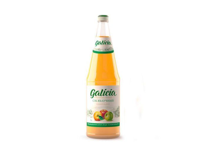Сік Galicia яблучний 1л - FreshMart