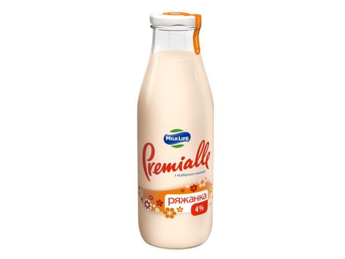 Ряженка Premialle 4% 750г - FreshMart