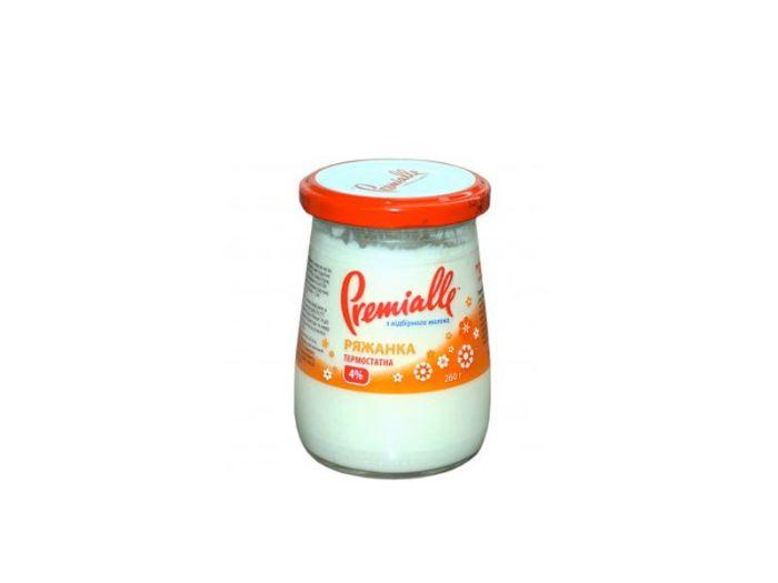 Ряженка Premialle термостатная 4% 260г - FreshMart