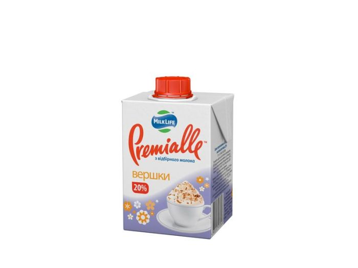 Сливки Premialle 20% 200г - FreshMart