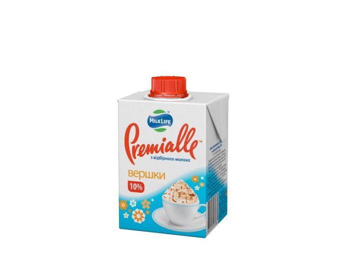 Сливки Premialle 10% 200г - FreshMart